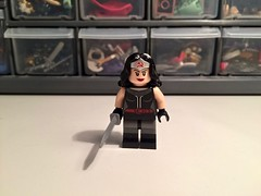 Soviet Wonder woman (Sam K Bricks) Tags: communist soviet wonder woman