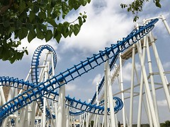 Terra Mitica Rollercoaster (PaulGibsonPhoto) Tags: ride themepark benidorm terramitica rollercoaster