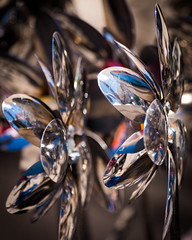Spoon Flowers (pattyg24) Tags: cedarburg cedarburgstrawberryfestival wisconsin abstract sculpture silver spoons