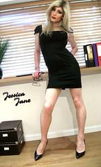 Office Dress (jessicajane9) Tags: tg crossdresser transgender cd tgurl crossdressing trans xdress transvestite feminization tgirl m2f tv lgbt