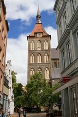 St.-Marien-Kirche zu Rostock (unicorn 81) Tags: canonef2470mmf28liiusm stmarienkirchezurostock rostock deutschland hansestadt norddeutschland hafenstadt kirche norddeutschebacksteingotik