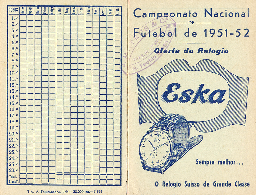 Calendario 1951.The World S Newest Photos Of Futebol And Portugal Flickr