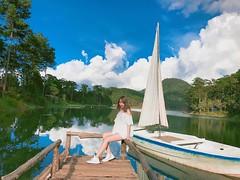 Hoang sơ và thuần khiết (trinh_huong_ocean) Tags: dalat vietnam vietnamese nature house trees forest sunshine sky lover boat skyfall city night