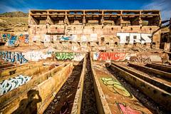Tintic Standard Reduction Mill (Thomas Hawk) Tags: america goshen haroldmill tinticmill tinticstandardreductionmill usa unitedstates unitedstatesofamerica utah warmspringsmountain abandoned graffiti mill fav10 fav25
