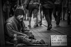Sad but true (daria_darek_b&w) Tags: sad but true street photography black white bw sony alpha homeless