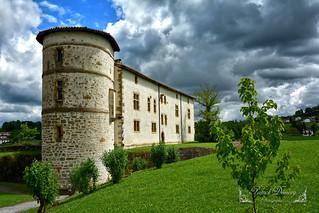 Espelette, Pyrénées-Atlantiques, en région Nouvelle-Aquitaine.