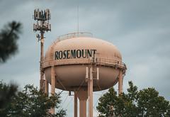 City of Rosemount, Minnesota - Water Tower (Tony Webster) Tags: cityofrosemount minnesota rosemount celltower cellularantenna watertower unitedstates us