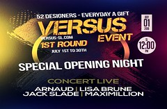 Versus Event 1st Round CONCERT LIVE special opening night (Carl Wardark Art Photo) Tags: versus event 1st round july 30th 52 designers – everyday gift special opening night concert live arnaud | lisa brune jack slade maximillion httpsmapssecondlifecomsecondlifeamethyst20cove14518530