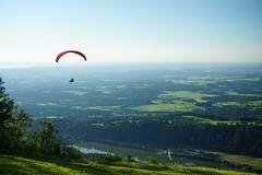 RU_201806_Blomberg_002-2 (boleroplus) Tags: decollage horizontal ion lac montagnes parapente paysage randonnee wackersberg bayern germany de