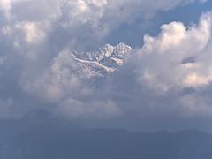 Himalayas from Nagarkot (Šarūnas Burdulis) Tags: nagarkot nepal himalayas