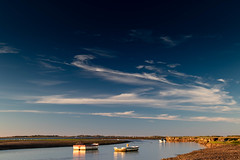 Big Sky at Stiffkey (andybam1955) Tags: bigskyatstiffkey tranquility landscape calm peaceful rural coastal clouds sky northnorfolk boats sea norfolk stiffkey