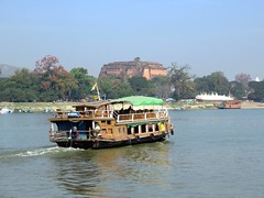 Ayeyarwady Excursion Boat (D-Stanley) Tags: ayeyarwady irrawaddy river mingun mandalay myanmar burma
