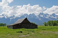 Old Barn at Teton National Park (Daniel Brennwald) Tags: grandteton mormonrow nationalpark oldbarn usa wyoming