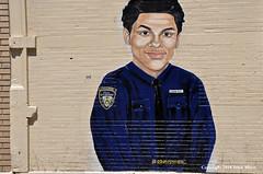 Memorial for Junior - Lesandro Guzman Feliz (Trish Mayo) Tags: junior justiceforjunior stoptheviolence murals memorials bronx belmont