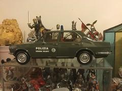 (Emilio a Roma) Tags: squadravolante polizia alfetta