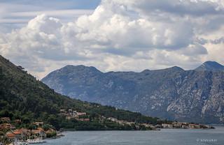 Leaving Kotor, Montenegro