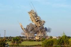 Launch Complex 17 Demolition (Michael Seeley) Tags: capecanaveral capecanaveralairforcestation nasa ula unitedlaunchalliance 45th wereportspace mike seeley michaelseeley space rocket launch lc17 complex 17 demolition