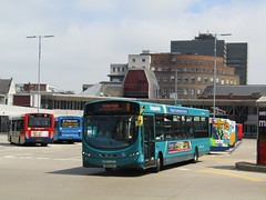 Arriva North East 1460 NK10CGU Middlesbrough Bus Stn on 8 (1280x960) (dearingbuspix) Tags: arriva arrivanortheast frequenta nk10cgu 1460
