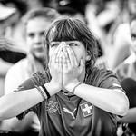 Fans de foot - Coupe du Monde 2018 - Durant le match Suède-Suisse thumbnail