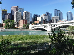 Calgary walk around town 2018 (davebloggs007) Tags: calgary city canada 2018 downtown river bow centre street bridge