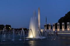 World War II Memorial, Washington, DC (dckellyphoto) Tags: washingtondc washington districtofcolumbia dc 2018 nationalworldwariimemorial bluehour longexposure blueazul