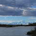 Denali and the Alaska Range Viewed from the Susitna River