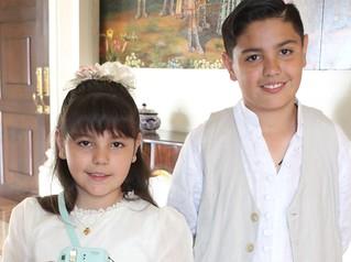 Azul y Juan Manuel reciben la eucaristía