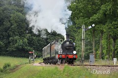 17th June 2018. Bluebell Railway. (Dangerous44) Tags: bluebell railway steam locomotive engine h class 263