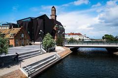 World Maritime University (Maria Eklind) Tags: wmu worldmaritimeuniversity skåne sky malmö bro street water arkitektur bridge sweden europe architecture city skånelän sverige se building