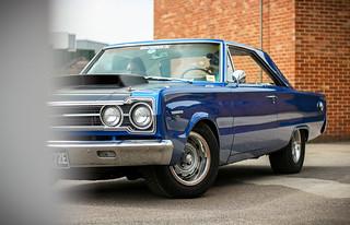 1967 Plymouth GTX.