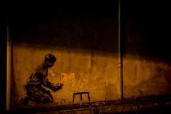Banksy? (Crossing China) Tags: china australia sydney kunming yunnan street streetphotography streetportraits streetportrait people earth travel dance minority yizu shadow cloudporn skyporn art skate guitar music vivid vividsydney sydneyoperahouse sydneyharbour