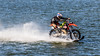 Just cruising along (tomi.wahlroos) Tags: motorcossmotorcycle enduro water ocean lake worldrecord attempt ski waterski naantali finland