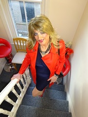 Three Steps to Heaven (Julie Bracken) Tags: satin kelayla transvista cd tgurl feminized xdresser mature old tv portrait hair red fashion transvestite mini skirt transgender m2f mtf transsisters enfemme ginger redhead party tranny trannie heels nylon julieb85 crossdressing crossdresser tgirl feminised 2018 kinky pantyhose crossdress polyamorous lgbt kelayla03