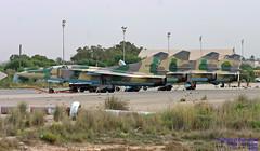 8423 HLLM 11-10-2007 (Burmarrad (Mark) Camenzuli Thank you for the 12.2) Tags: airline libya air force aircraft mikoyangurevich mig23ub registration 8423 cn b1038423 hllm 11102007