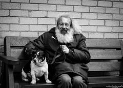 Brian & Bailey (Nabendu Das Gupta) Tags: street photography brian bailey yongnuo lens 50mm