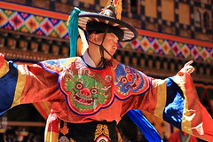 (* Cynthia Chang *) Tags: 不丹 bhutan asia people mask happiness travel