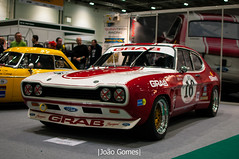 RS (joao_gomes85) Tags: 1972 ford capri 2600rs the london classic car show 2018 motorsport racing race red white