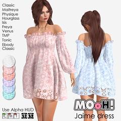 Jaime dress (Dalriada Delwood (MOoH!)) Tags: mooh teleporthub sl second life free gift freebie