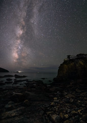 milky way (katsumasa0313) Tags: sea sony milkyway rock star night nightscape amakusa kumamoto japan