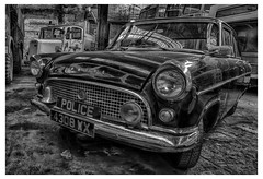 Ford Consul (Alan-Taylor) Tags: ford fordconsul car vintage monochrome hdr keighley keighleybusmuseum