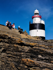Hook lighthouse (Jacek Rudowski) Tags: ireland county wexford hook lighthouse head building rock rocks blue sky people tourism trave travelphoto travel travelphotography tourists bulding bluesky weekend spring summer colorphoto colourphoto colorphotography colourphotography colors