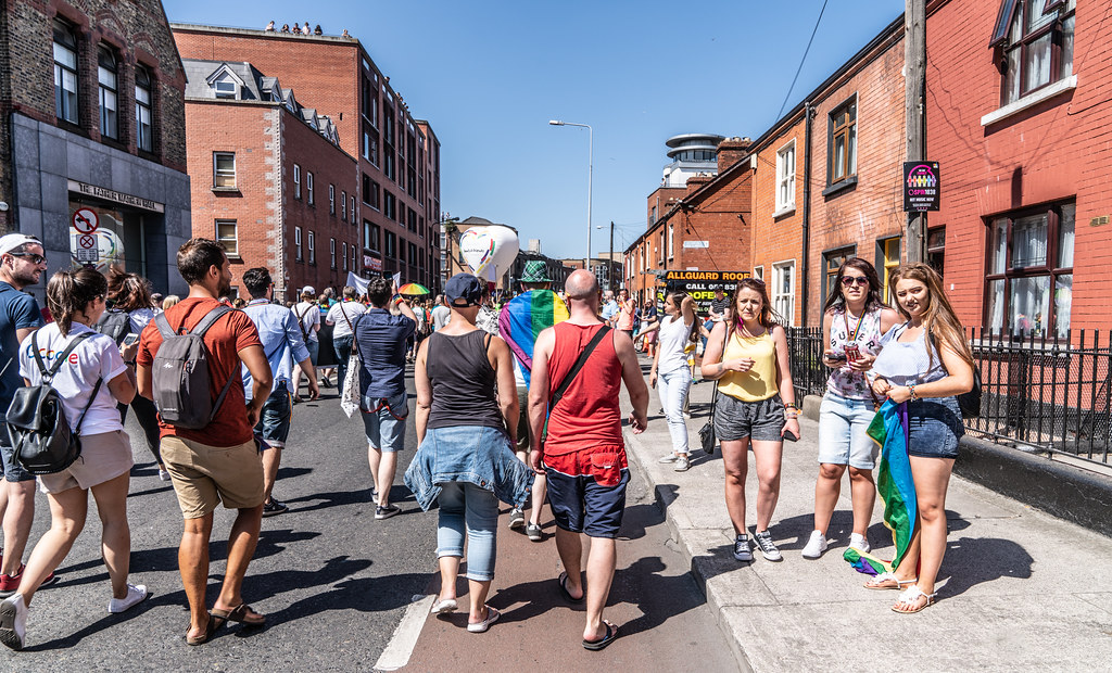 ABOUT SIXTY THOUSAND TOOK PART IN THE DUBLIN LGBTI+ PARADE TODAY[ SATURDAY 30 JUNE 2018] X-100184
