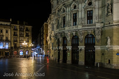 Teatro Arriaga Arriaga Antzokia, Bilbao (Jose Antonio Abad) Tags: vizcaya joséantonioabad arquitectura noche pública bilbao riadelnervión paisajeurbano españa paisvasco euskadi es