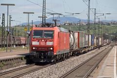 DB 185 080 Weil am Rhein (daveymills37886) Tags: db 185 080 weil am rhein baureihe cargo traxx bombardier