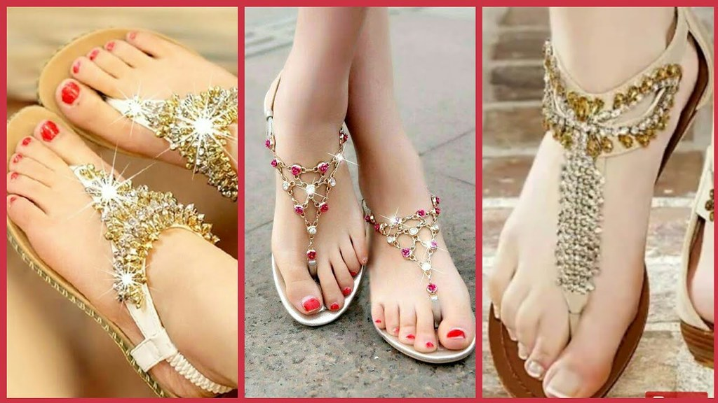 48786c182a1f3 Comfortable Flat Sandals Collection 2018 - Latest Stylish Pumps For Girls  (The Beauty Writer)