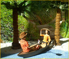 A-Z Challenge 2.0: O - Off the Grid (Mary (Mária)) Tags: summer grid palm beach sand sea parrot love canoe summertime challenge az fashion doll toys barbie ken divergent thehungergames katniss four cruise fashionistas dollphotography dollphotographer dollcollector mattel marykorcek
