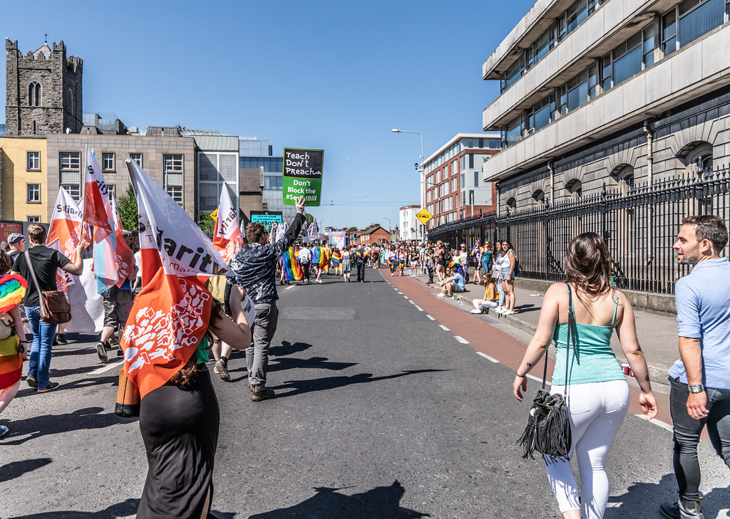 ABOUT SIXTY THOUSAND TOOK PART IN THE DUBLIN LGBTI+ PARADE TODAY[ SATURDAY 30 JUNE 2018] X-100015