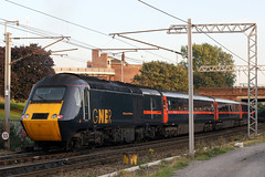 43108 'The Old Course St. Andrews' + 43113 'The Highlands' (Cumberland Patriot) Tags: gner great north eastern railways inter city 125 ic intercity125 ic125 intercity hst high speed train br british rail brel paxman valenta engine power car class 43 43113 of newcastle the highlands 43108 highland chieftain old course standrews dieselelectric diesel motive traction unit wcml west coast main line caldew junction carlisle cumbria express passenger diversions diverted tyne valley railroad rails track tracks catenary wires