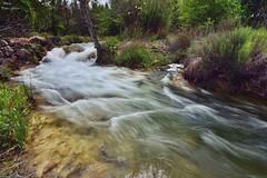 Slow Water (Peideluo) Tags: nature landscape river ruidera naturaleza agua aguaenmovimiento río cascada árbol