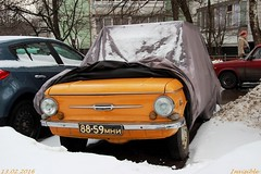 Covered car cover zaz 968 (parshin1994) Tags: